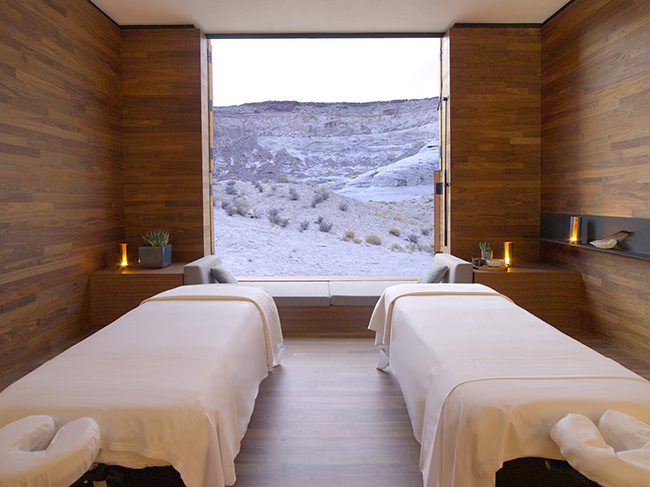 Amangiri - Aman Spa Treatment Room