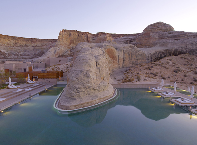 Amangiri - Swimming Pool_Dusk
