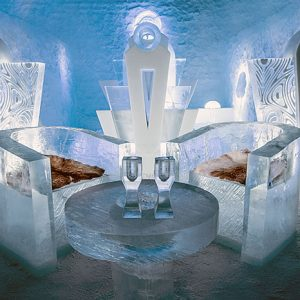 Luxury Igloos and Ice Hotels